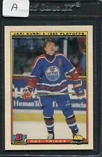 1990 Bowman Jari Kurri Hat Tricks #19 Mint (A)