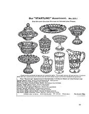 Butler Brothers 1900 glassware catalog reprint