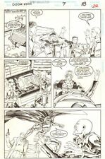 2099 Unlimited #7 p.18 - Doom 2099 - 1995 art by Edmund Perryman