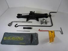 97 Subaru Impreza Tire Jack Kit + tool bag + spare hold down bolt + wrench
