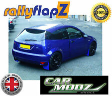 Rally style Mud Flaps to fit Ford Focus RS MK1 98-04 Mudflaps Blue RallyflapZ