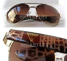 New GUESS GF0288 Gold/Brown Womens Sunglasses $80