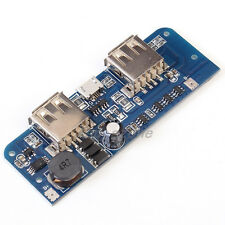 1A 2.1A Double USB Power Bank Charger Protection Board Step Up Boost Module
