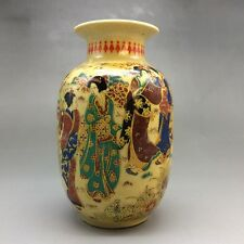 China's rich and colorful ceramics hand-painted kimono woman - the vase