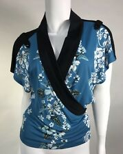 NWT Jean  Paul Gaultier Woman Top Faux Wrap Made In Italy SZ 8 US