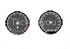 Bmw de tacómetro para 1er e81 e82 e87 e88 300 sets multaránpor km/h m1 carbon nr 111