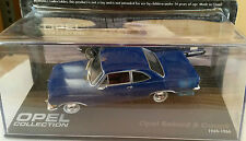 """DIE CAST """" OPEL REKORD B COUPE 1965 - 1966 """" OPEL COLLECTION SCALA 1/43"""