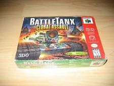 Battle Tanx Global Assault Nintendo 64 N64 Game Factory Sealed New