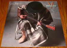 STEVIE RAY VAUGHAN AND DOUBLE TROUBLE IN STEP ORIGINAL LP 1989