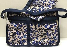NWT LeSportsac Deluxe Everyday Bag $82 Blooming Silhouettes