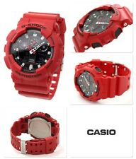 Brand New Men's GA100B-4A Red G Shock Limited Edition NWT!!!