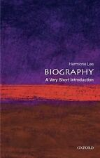 """""""Biography: A Very Short Introduction"""" by Hermione Lee - Paperback"""