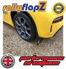 RallyflapZ FIAT 500 ABARTH (2016+) Nero 4mm PVC Parafanghi LOGO SCORPIONE GIALLO