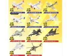 Furuta War Planes Vol.7 Miniature Plastic Model Standard Set of 11 Rare New