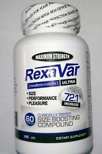 Rexavar * 3 Bottles * MFG Direct * Clinically Proven To Increase Size, Hardness
