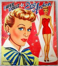 Original Eve Arden uncut paper dolls and outfits-excellent/near mint-1950's