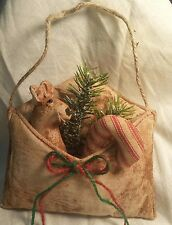 "Primitive Christmas ""Card""/Envelope/Mouse/ Candy Cane/Grunged/Bowl Filler/Tuck"