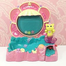 Vintage Kenner Littlest Pet Shop Shimmering Merpets Splash 'n Play Cat Mercat #6