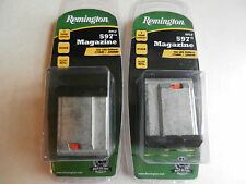 Remington 597 Magnum OEM Magazine;  17 HMR or 22 WMR;  19653;  Lot of 2 Mags