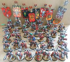 1997 Chaos Space Marines Citadel Pro Painted Warhammer 40,000 Army 40K Traitor