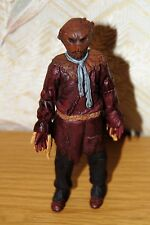"""Doctor Who 5.5"""" Scarecrow Action Figure Unboxed Maroon/Brown/Blue Scarf Good"""