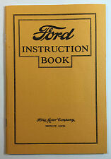 Ford Instruction Book, Ford Motor Co., Reprinted by Polyprints, Dallas, Texas