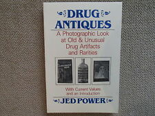 Drug Antiques, Jed Power, Drug Collectibles, Signed, Cannabis, Marijuana, Dope