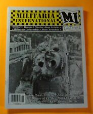 MILITARIA  INTERNATIONAL MAGAZINE JUNE/2000...HISTORY..JEEP ARTICLES..MILITARIA