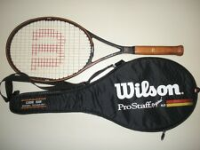 WILSON PRO STAFF 6.0 ORIGINAL MIDPLUS 95 TENNIS RACQUET 4 1/4 (NEW STRINGS)
