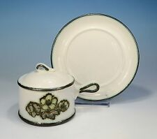 "Wedgwood ""Primrose"" Suppentasse & Deckel & Untertasse"