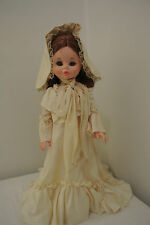 "Vintage Furga Old Fashion Doll ""Ivonne"" 17"" Made in Italy"