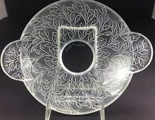 Lalique Rare Coupelle Chevrefeuille HONEYSUCKLE DISH/Bowl Signed France