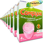 12x Nutricia Complan Strawberry Flavour Vitamin Mineral Energy Drink 4 Sachets