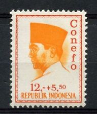 Indonesia 1965 SG#1043, 12R+5R50 President Sukaarno Definitive MNH #A60110