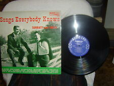 RARE-CECIL SURRATT & SMITTY SMITH-1961-Audio Lab-Songs Everyboby Knows-M-/ M-