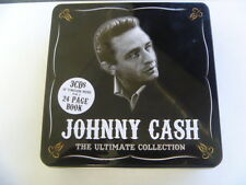 698458650122 3 CD W BOOK JOHNNY CASH ULTIMATE COLLECTION  QUALITY CHECKED 3 CD