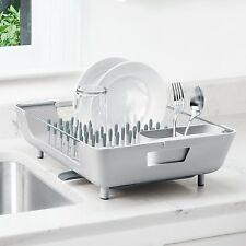Oxo Good Grips Dishrack With Soft Tipped Pegs & Drip Tray Dish Rack