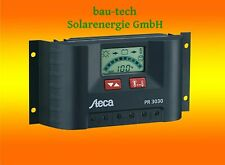 Steca LCD Display PR 3030 Solar Laderegler 12V 24V Wohnmobil Camping Solaranlage