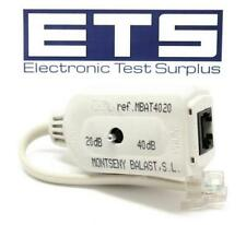 Telefonica MONTSENY BALAST MBAT4020 RJ11 - RJ45 Dongle Switchable DB 20db - 40db