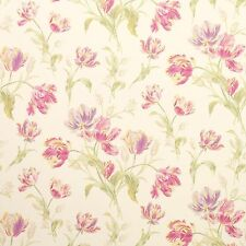bnip ** 4 ROLLS AVAILABLE LAURA ASHLEY WALLPAPER GOSFORD MEADOW CYCLAMEN