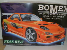 "1/24 MAZDA RX-7 FD3S ""BOMEX"" MODIFIED,DRIFT,CUSTOM PLASTIC KIT"