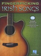 Fingerpicking Irish Songs Learn to Play Folk Celtic Solo Guitar TAB Music Book