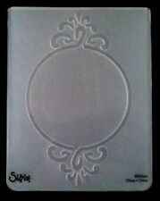 Sizzix Large Embossing Folder FRAME CIRCLE ORNATE fits Cuttlebug & Wizard