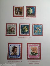 NEW ZEALAND, LOT timbres THEMES FLEURS, FLOWERS, BUTTERFLY, oblitérés, VF STAMPS