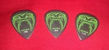 RARE Metallica OFFICIAL James Hetfield SET of 3 Guitar Picks FREE SHIPPING ULTEX