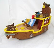 Fisher-Price Disney Jake and The Neverland Pirates Bucky Hook's Toy Boat Ship