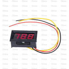NEW Red LED Panel Meter Mini Digital Voltmeter DC 0V To 99.9V
