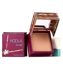 Benefit HOOLA Bronzing Powder~ 8g FULL SIZE Bronzer Compact with Mirror & Brush