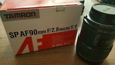 tamron af90mm f/2.8 macro lens for nikon
