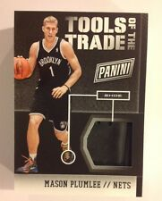 2013/14 2014 National Panini Tools of the trade TOTT MASON PLUMLEE #2 Nets Shoe